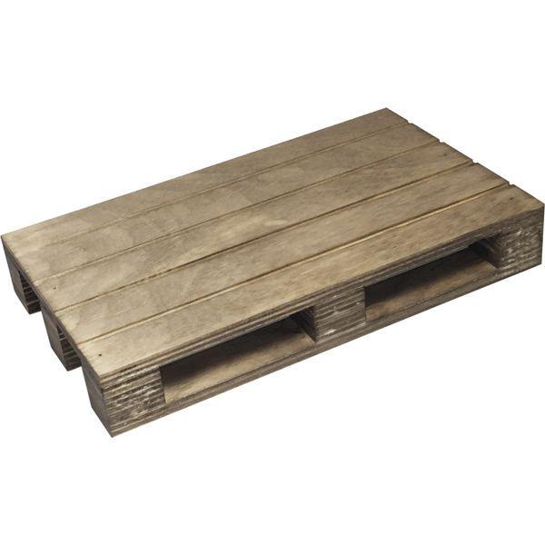 »Vintage« Holzpalette, Höhe: 30 mm, Länge: 200 mm, Breite: 120 mm