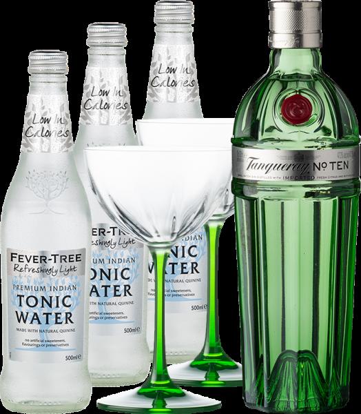 Tanqueray Gin & Tonic Light Set
