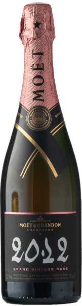 Moet & Chandon Grand Vintage Extra Brut Rosé 2012
