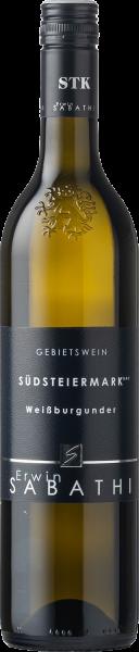 Sabathi Weißburgunder Südsteiermark DAC 2020 BIO