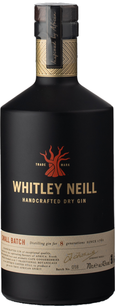 Whitley Neill Handcrafted Dry Gin 0,7L